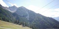 Blick nach oben zur Härmelekopfbahn