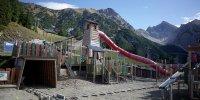 Der Spielplatz am Berg