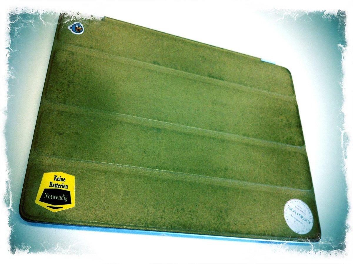 Retro iPad 2 mit abgefucktem Smart Case
