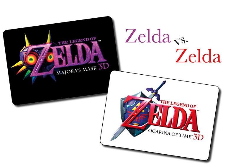 The Legend of Zelda: Ocarina of Time 3D oder The Legend of Zelda: Majora's Mask 3D