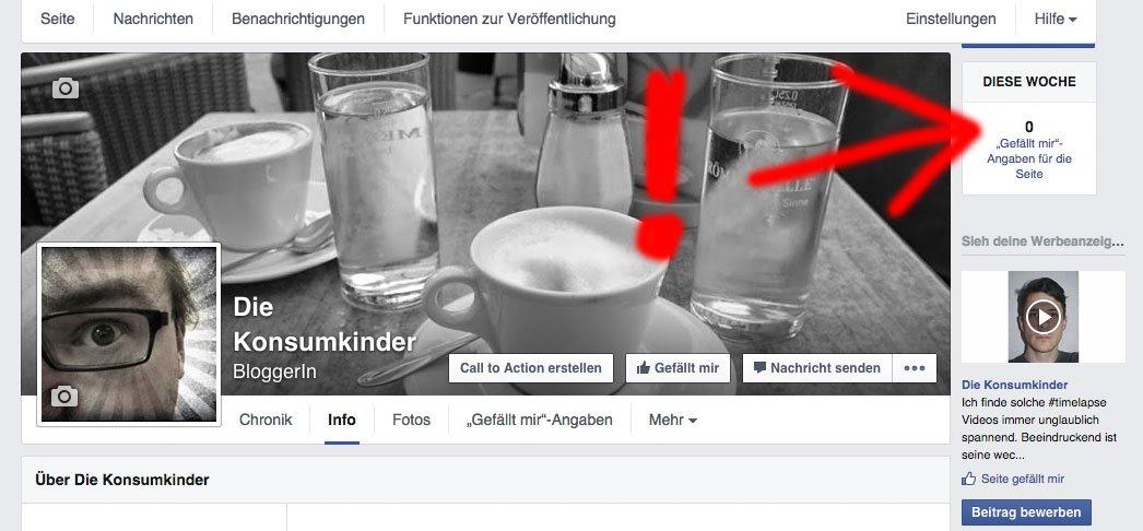 Facebook Rekord: 0 Likes nach 66 Tagen