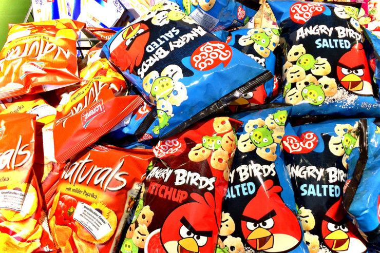 Chips-fressen