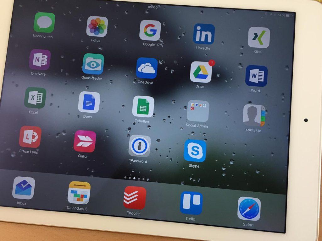 iPad Workflow Tools im Überblick