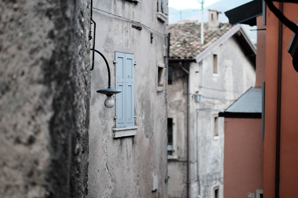 Straße in Cassone