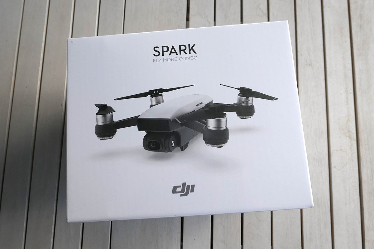 DJI Spark - Fly More Combo in Gelb