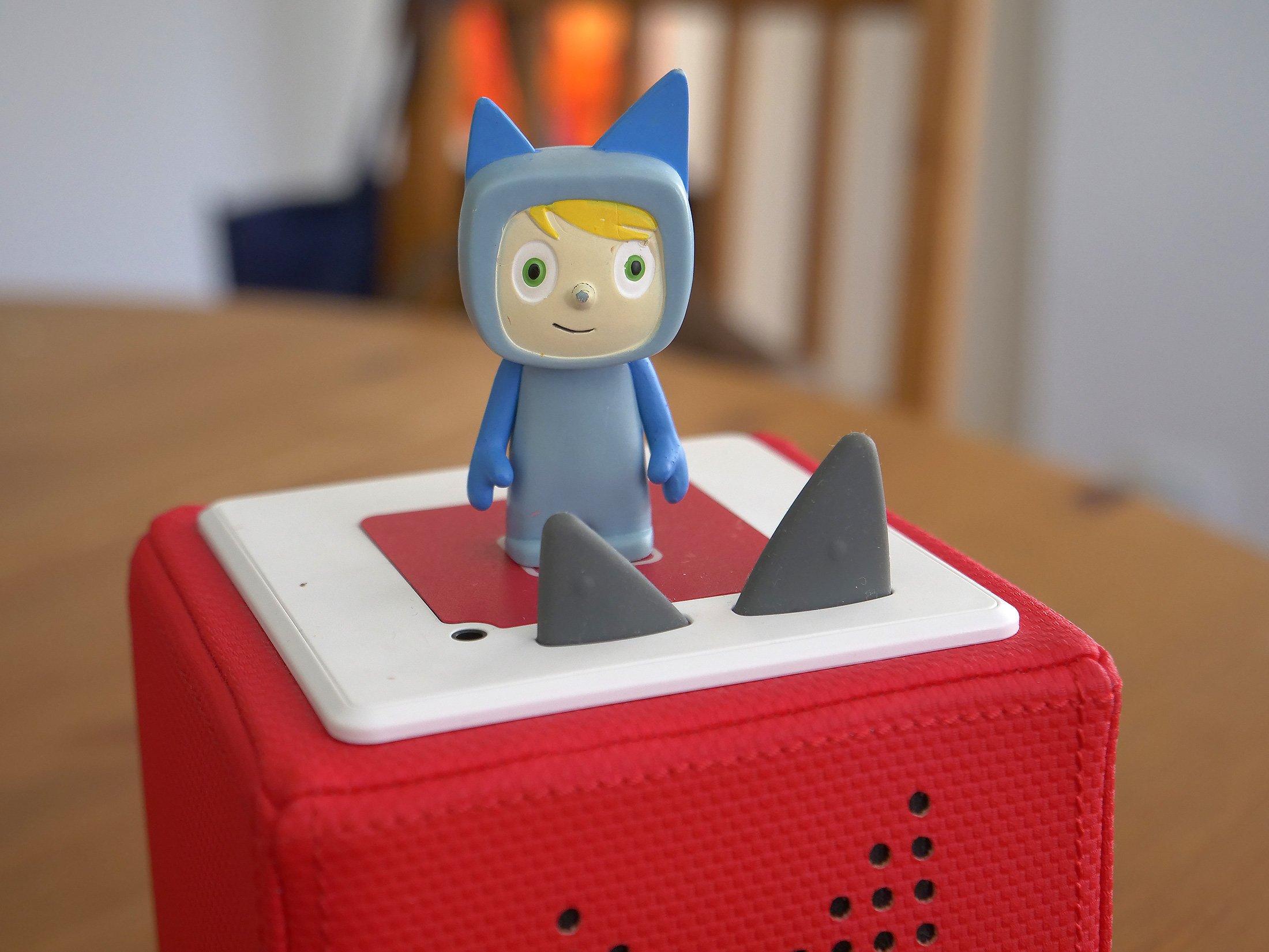 Kreativ-Tonie auf der Tonie-Box