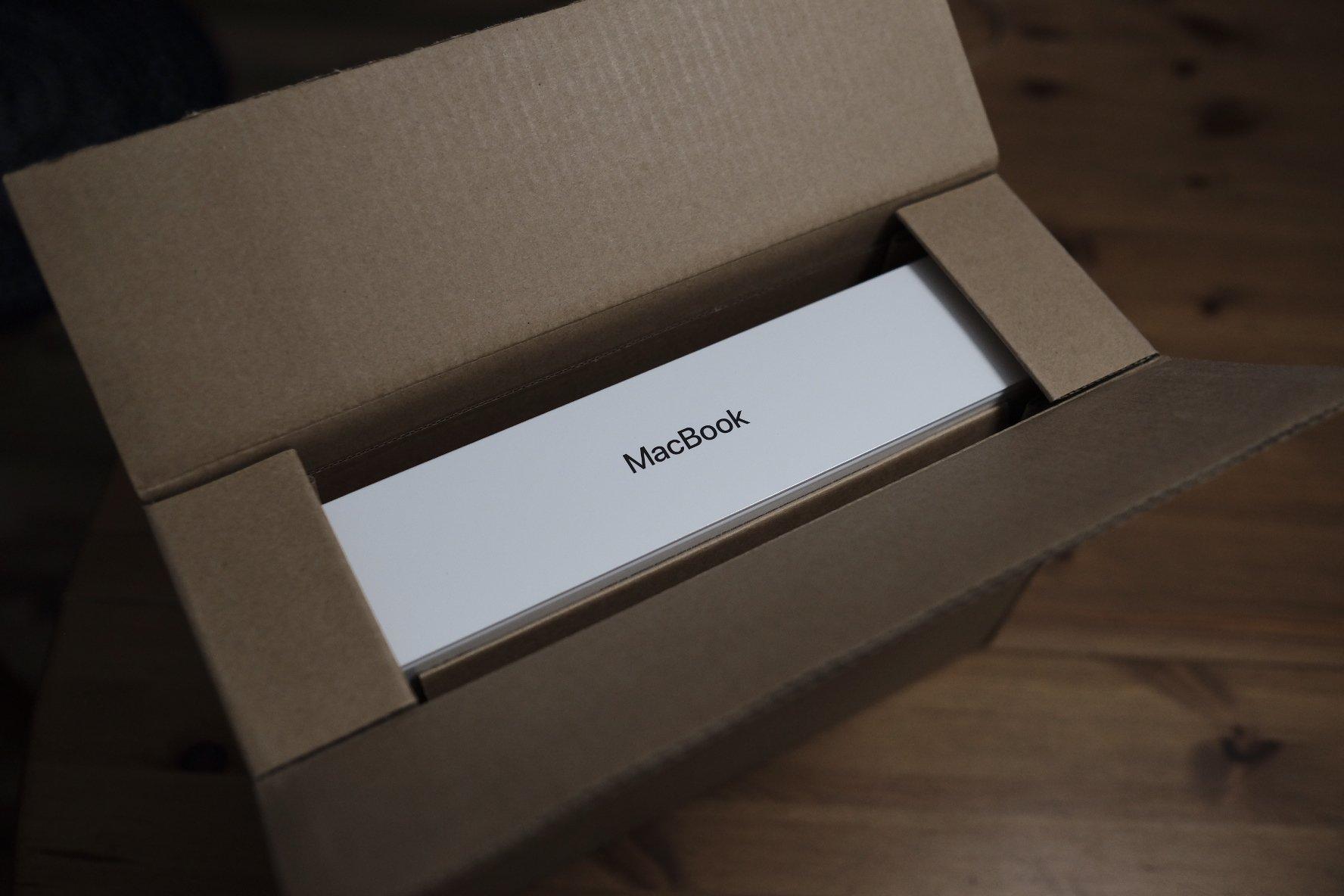 """Verpackung des Macbook 12"""""""