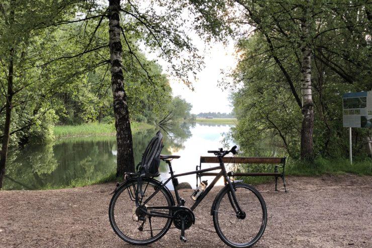 Pimp my BMI: Mit dem Mountainbike am See
