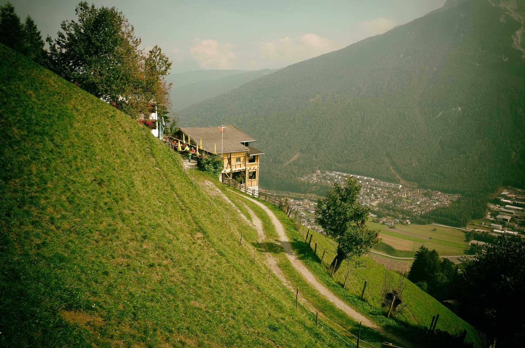 Mit dem Freizeitticket auf den Berg